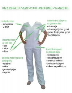 uniforma za masere